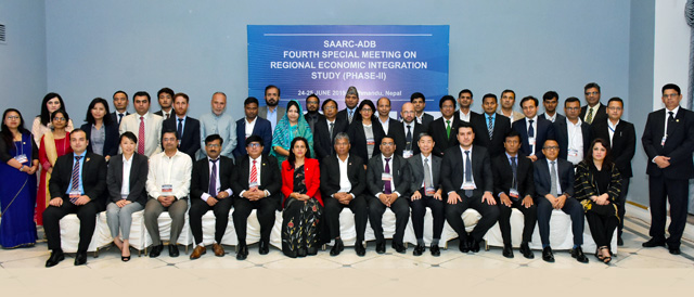 SAARC-ADB Fourth Special Meeting on Regional Economic Integration Study (Phase-II)